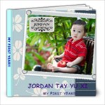 Our Baby Jordan Tay Yu Xi - 1 Dec 2008 - 8x8 Photo Book (39 pages)