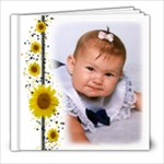 Simple Sunflower 8x8 20 pg SAMPLE BOOK - 8x8 Photo Book (20 pages)