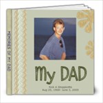 dad book - 8x8 Photo Book (30 pages)
