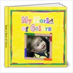 Galen s colors - 8x8 Photo Book (20 pages)