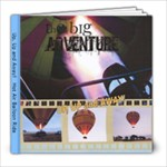 Hot Air Balloon Ride - 8x8 Photo Book (20 pages)