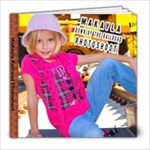 makayla railroad shoot- danicphotography - 8x8 Photo Book (20 pages)