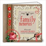 Timeless Vintage Copy Me :) - 8x8 Photo Book (20 pages)