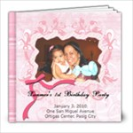 Xanmer s 1st Birthday Party - 8x8 Photo Book (20 pages)