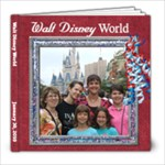DisneyWorld January 30,2010 - 8x8 Photo Book (60 pages)