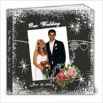 Wedding double overlay for bleed - 8x8 Photo Book (20 pages)