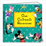DisneyLand CA Adventure - 8x8 Photo Book (39 pages)
