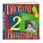 Diegos birthday - 8x8 Photo Book (20 pages)