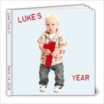 Luke turns 1 - 8x8 Photo Book (20 pages)