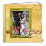 Megan s Wedding - 8x8 Photo Book (20 pages)