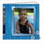 My first swimming pool at nannys - 8x8 Photo Book (20 pages)