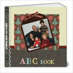 ABC Book Family Grandparents - 8x8 Photo Book (20 pages)
