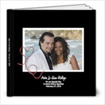 Wedding Day Book - 8x8 Photo Book (20 pages)