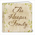 Hooper Family Book - 8x8 Photo Book (20 pages)