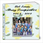 2009 - 2010 Daisy Troop Book - 8x8 Photo Book (20 pages)
