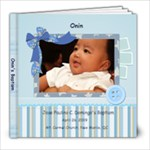 onin s baptism - 8x8 Photo Book (20 pages)