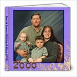 2000 Barts Family - 8x8 Photo Book (20 pages)