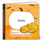 Rocky s Halloween Book 20 Pages - 8x8 Photo Book (20 pages)