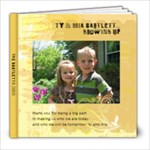 Ty and Mia 2009 Bartlett - 8x8 Photo Book (20 pages)