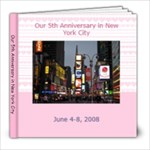 New York Trip Photobook - 8x8 Photo Book (20 pages)