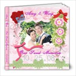 Wedding photo book 1 - 8x8 Photo Book (20 pages)