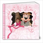 Cadince s 4th birthday - 8x8 Photo Book (20 pages)