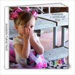 MADISON TURNS TWO!! - 8x8 Photo Book (20 pages)