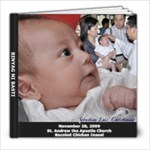 BINYAG NI BASTI - 8x8 Photo Book (39 pages)