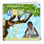 Gavin s ABC Book - 8x8 Photo Book (30 pages)