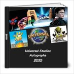 universal studios autograph book - 8x8 Photo Book (30 pages)