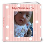 Baby Claris s 1st Month - 8x8 Photo Book (30 pages)