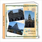 Montreal - 8x8 Photo Book (20 pages)