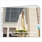 Sacred Heart Lady Fatima 2010 - 9x7 Photo Book (20 pages)