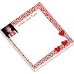 Red Notepad - Small Memo Pads