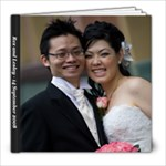 Our Wedding Book - 8x8 Photo Book (30 pages)