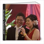Wedding Reception Book - 8x8 Photo Book (30 pages)