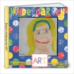 Kindergarten Art Photo Book - 8x8 Photo Book (30 pages)