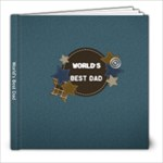 World s Best Dad - 8x8 Photo Book (20 pages)