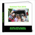 Summer Fun 2010 - 8x8 Photo Book (30 pages)