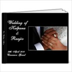 Wedding Album 3 - 9x7 Photo Book (20 pages)