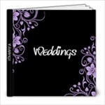 Weddings - 8x8 Photo Book (20 pages)