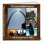 St Louis Family Vacation 2009 - 8x8 Photo Book (39 pages)