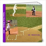 Softball 2010 - 8x8 Photo Book (39 pages)