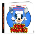 chef mickey - 8x8 Photo Book (20 pages)