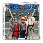 ZIPLINE AND FLOAT TRIP - 8x8 Photo Book (39 pages)