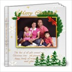 xmas and new year of lising family - 8x8 Photo Book (100 pages)
