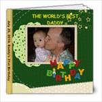 papa s birthday - 8x8 Photo Book (39 pages)