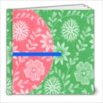 Summer Picnic Book - 8x8 Photo Book (20 pages)