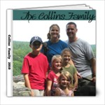 The Collins family YEAR 1 - 8x8 Photo Book (20 pages)