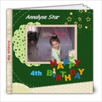 Annalyse 4th Birthday  - 8x8 Photo Book (20 pages)